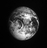 Galileo earth image