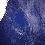 lake tahoe from outer space